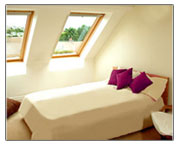 completed Loft Conversion - interior view
